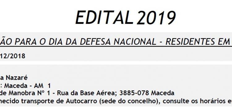 Dia da Defesa Nacional 2019