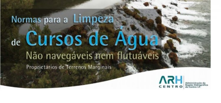 Normas para a limpeza de cursos de água