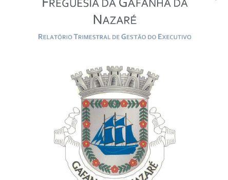 Relatório Trimestral de Gestão de setembro a novembro de 2020